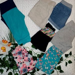 •Mixed Lot of Shorts/Capri Leggings/Leggings (8)•